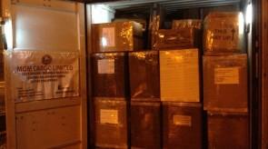 december 2014 shipment