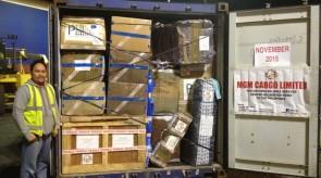 November 2015 Shipment