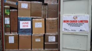 june 2016 shipment