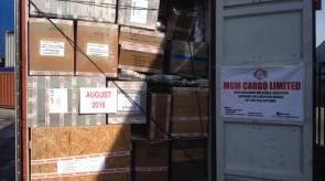 August 2016 shipment