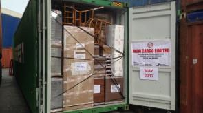 shipment may 2017